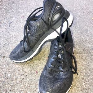 Ascis Gel Nimbus 20 Women's Black Running Shoes